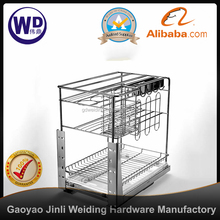pull out baskets for kitchen cupboards WT-YG0935 350 cabinet