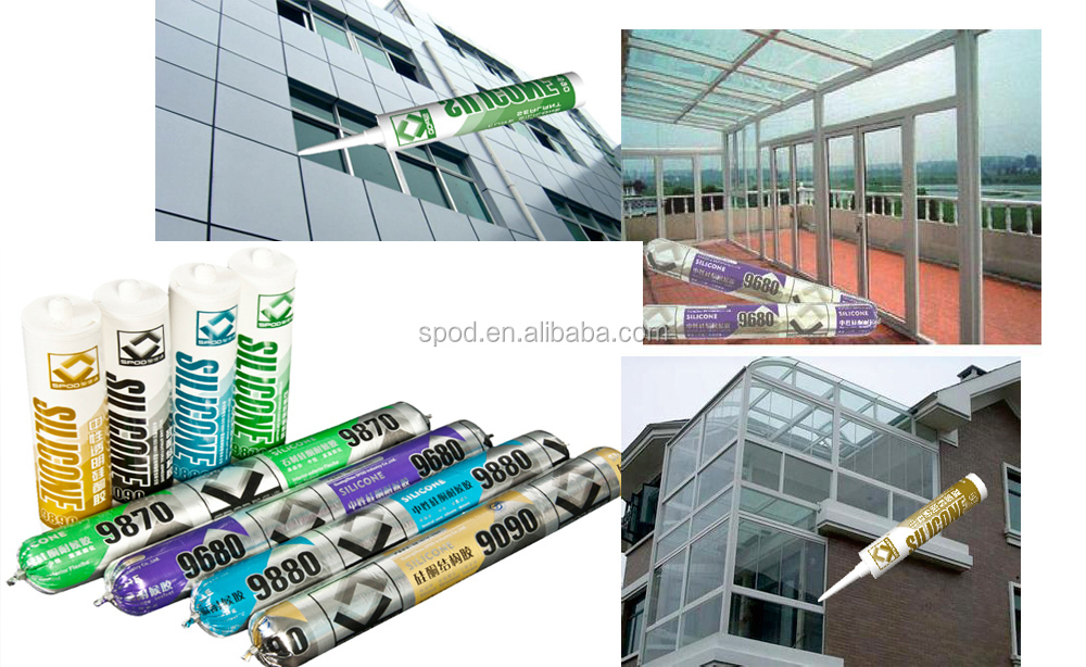 aluminum window glass sealant UPVC window silicone sealant