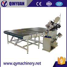 Auto-Flip wb4 mattress Tape Edge Machine , assembly line mattress tape edge machine
