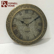 Chinese Antique Home Decoration Metal Clock