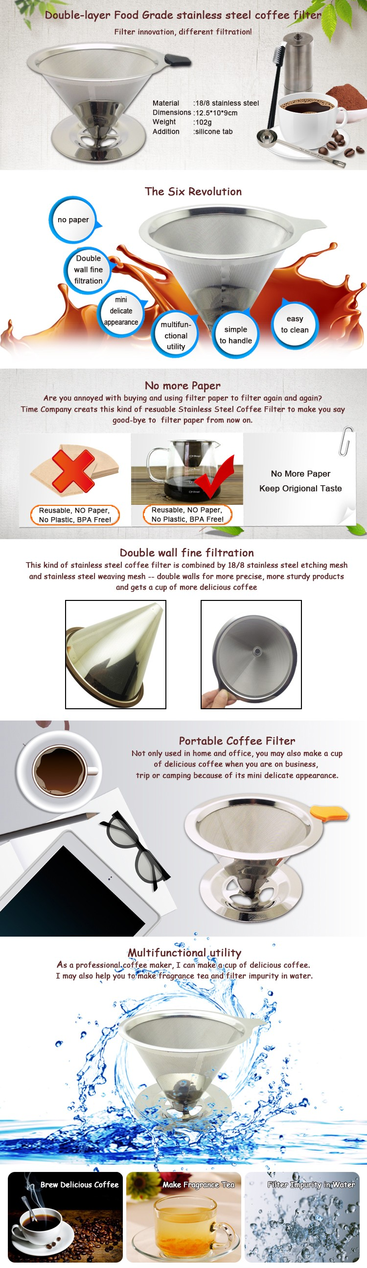 online shopping osaka stainless steel filter coffee