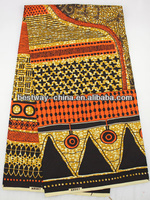 African real wax cotton fabric/100% cotton veritable real wax H1001