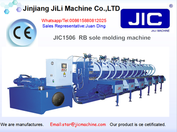 Rubber Sole automatic oil hydraulic machine