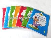school books, stapled notebook, exercise books OEM service, manufacturer