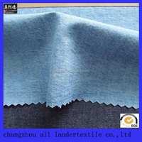 100% cotton denim fabric for shirts make in china