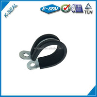 p type pipe fasteners clips with rubber