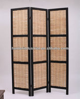 Decorative Willow Folding Screen