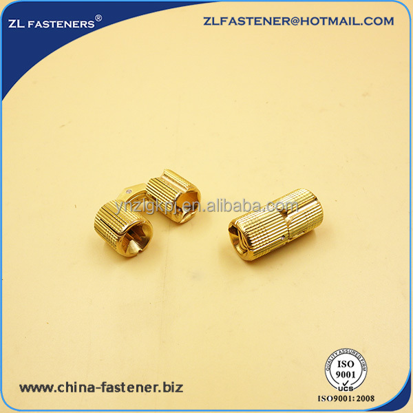 brass barrel Invisible concealed hinge for furniture cabinet