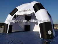 Commercial advertising Inflatable exhibition spider tent