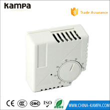 Adjustable temperature digital and programable thermostat