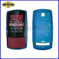 TPU Case for Nokia Asha 303 3030, S Line Wave Gel Silicone Cover