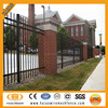 Australia and Canada galvanized & polyester painting Wall boundary steel fence