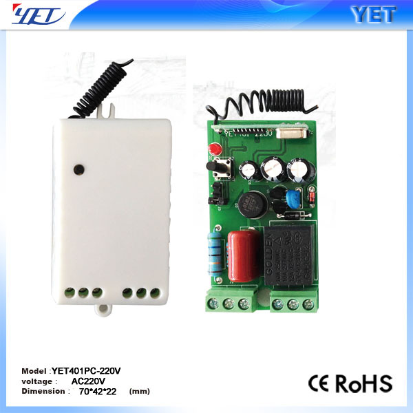 Electrically operated gate Remote control Receiver YET401PC