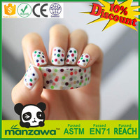 Free samples cartoon washi adhesive tape nail art design