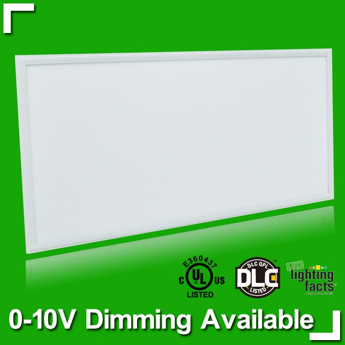 Get Sample at Amazon . 2x4ft 50w/63w UL&DLC warm cool light,Amercian market ceiling mounted led panels