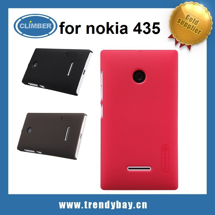china supplier Nillkin frosted back hard case for nokia lumia 435 phone