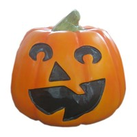 Smiling face foam pumpkin for Halloween decorations