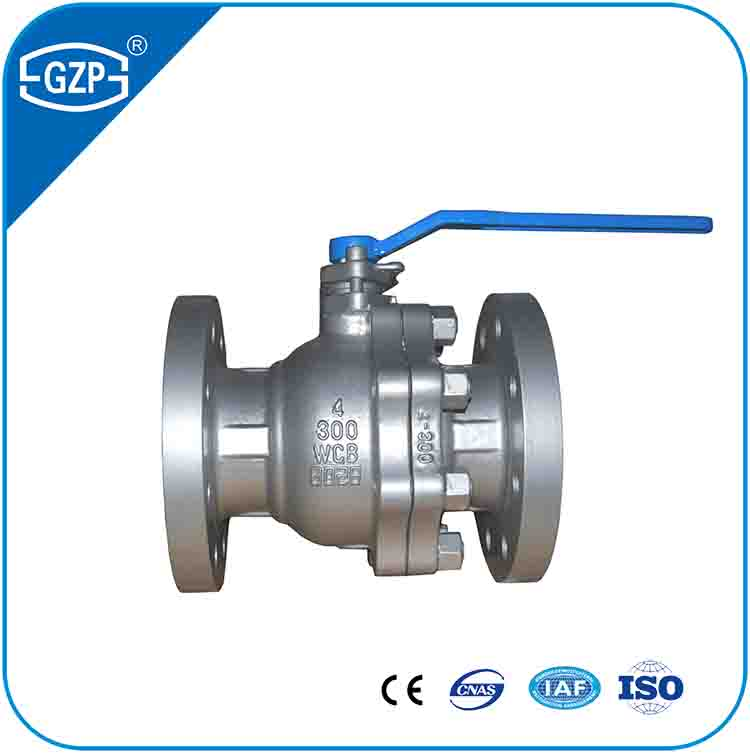 ASME B16.5 Flanged ASTM A216 Gr WCB Ball Valve