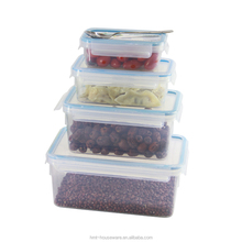 0.55 liter plastic bpa free food containers promotional lunch box dried fruit container food saver container