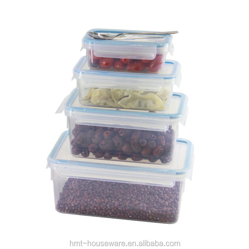 High market share 0.55 liter plastic bpa free food containers promotional lunch box dried fruit container food saver container