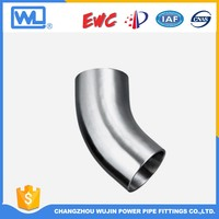 Long Radius Stainless Steel 90 Degree Elbow Exhaust
