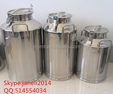 Hot sale 304 stainless steel milk cans