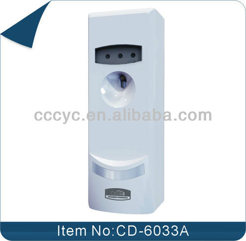 Manual Fragrance Air Freshener Dispenser with Light Sensor CD-6033A