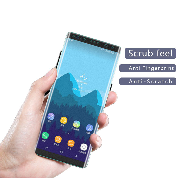 Case Friendly Manufacturer, galaxy note 8 matte screen protector 3d full cover tpu material