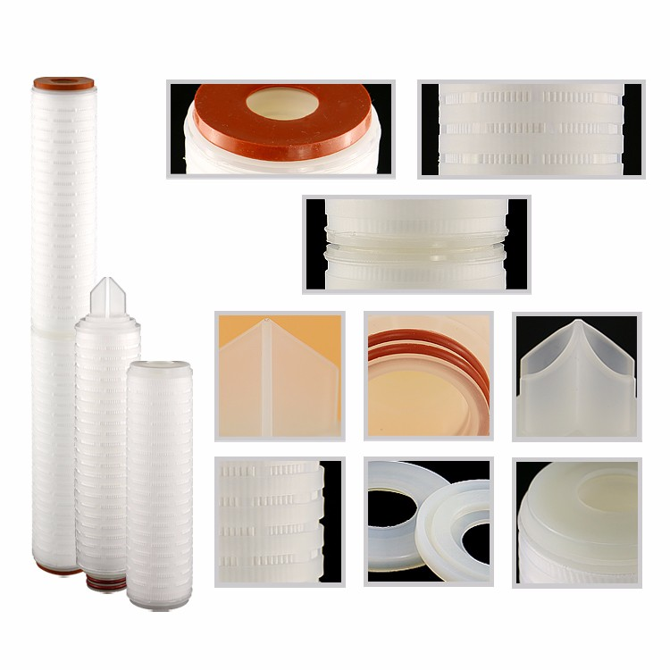 "10"" Micron Membrane PP Pleated Filter Cartridge Water Filter"