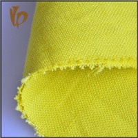 2015 new products slub yarn yellow pure linen bed set fabric