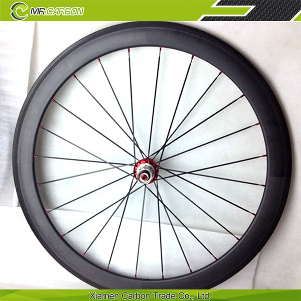 tubular carbon wheelset 50mm bike wheel 700c powerway r36 hub ceramic bearing 23mm basalt brakig surface