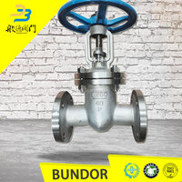High performance dn150 pn16 industry stainless steel oil and gas gate valve