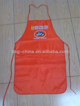 cheap custom logo kitchen cotton apron wholesale