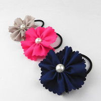 china custom high stretch hair ties