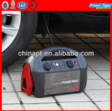 12V/12AH Portable Car Jump Starter With Air Compressor 17Bar/200psi