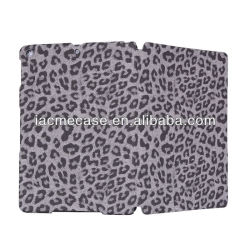 Leopard skin design tablet case cover for ipad air