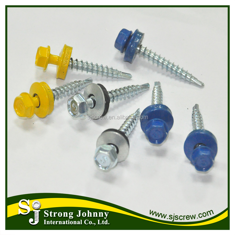 Self Drilling Screw Tek Screw Fastener For Metal Roofs
