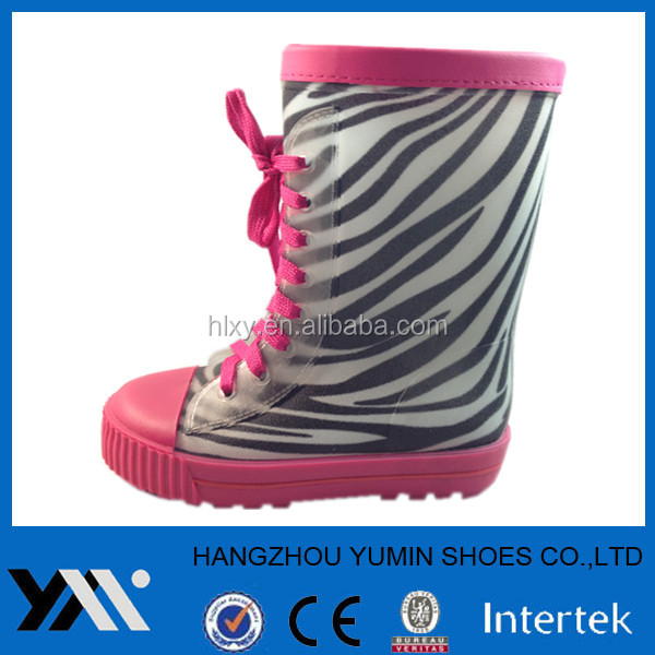 Girls PVC rain shoes special boots