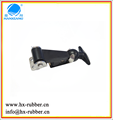 Draw Latch Nonlocking Black Rubber For Ice Box