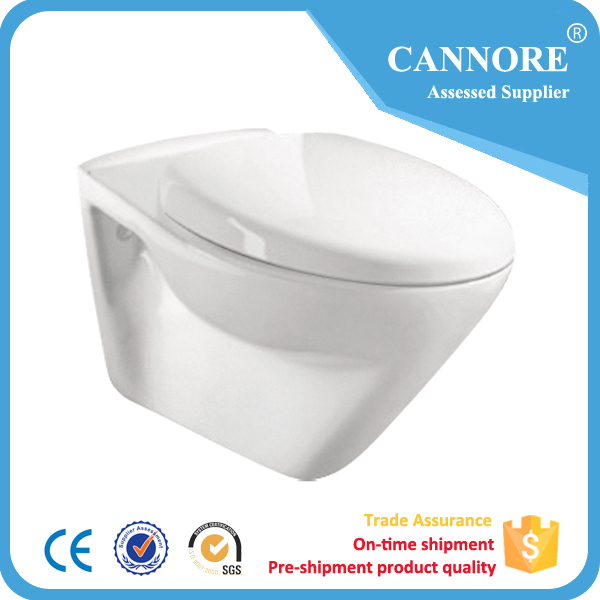 CE CERTIFIED WALL HUNG WC FOR EUROPEAN MARKET