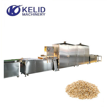 Belt Conveyor Sesame Microwave Drying And Roasting Machine