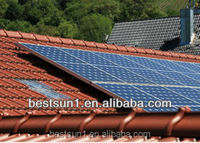 6000w for all family solar pitched roof mounting system