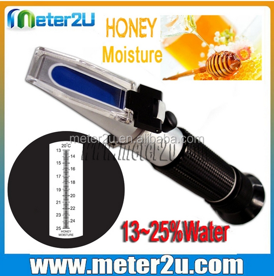 cheap price Honey Refractometer to Measure Sugar Moisture Content Tool of water white honey