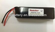 10000MAH 4S1P 20C 14.8V LiPO Battery for R/C Models 10000mah rc lipo battery 14.8v 10000mah battery