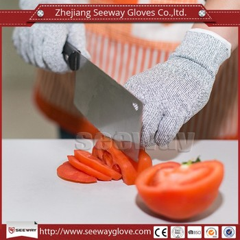 Seeway Trade Assurance EN388 Cut Resistant B&G Hand Gloves for Fruit Picking