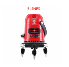 5 Lines Red Land Laser Level