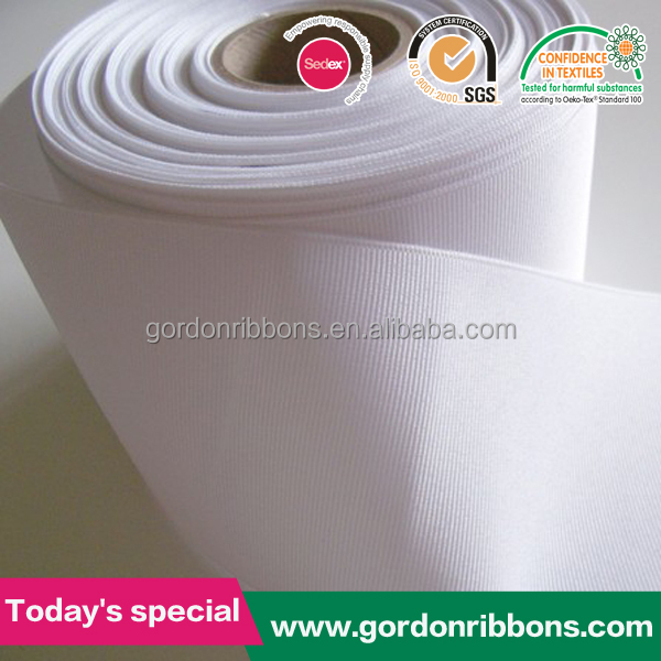 3 inch white grosgrain ribbon,wholesale 3 inch grosgrain ribbon,double face grosgrain ribbon