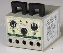 Electronic motor protection relay with Over load open-phase