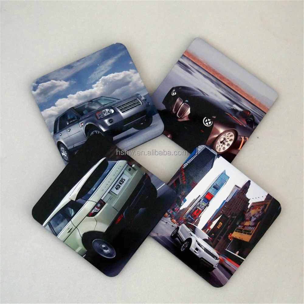 coaster set for cars,coaster with cork bottom
