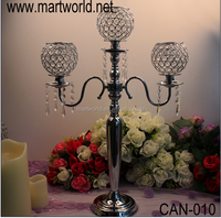 3 arms Tall candelabra centerpiece wedding,candle holders for wedding table centerpiece,wholesale candelabra wedding(CAN-010)